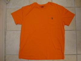 Polo by Ralph Lauren Casual Crew Neck Super Soft Orange T Shirt L - $22.28