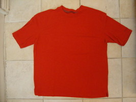 Cabela's Legendary Quality Outdoors Thick Durable Soft Orange T Shirt XL - $17.66