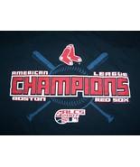 MLB Boston Red Sox Baseball 2007 AL Champions Navy Graphic T Shirt - XL - $17.61