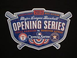 MLB Texas Rangers Houston Astros Opening Series 2013 Baseball Fan T Shir... - $18.50