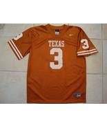 NCAA Texas Longhorns College University Football Fan #3 Nike Youth Jersey L - $19.00