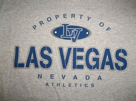 Las Vegas Nevada Athletics Grey Ringer 90/10 Graphic Print T Shirt M - $17.46