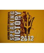 NCAA Arizona State Sun Devils Speaking Victory 2012 College Fan T Shirt ... - $19.00