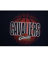 NBA Cleveland Cavaliers National Basketball Association Fan Blue T Shirt L - $17.76