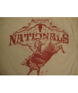 Academy Sports and Outdoors Green Valley Nationals Rodeo T Shirt M - $17.66