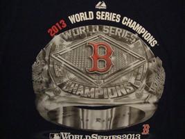 MLB Boston Red Sox Major League Baseball Fan 2013 World Series Blue T Shirt M - $17.46