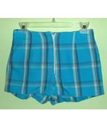 Sexy 70's Vintage Plaid Hot Pants Shorts Women's - $16.00