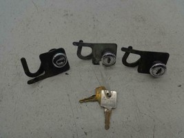 1985-1992 Harley Davidson FLH FLT Touring trunk / saddlebag locks latch set key - $124.95