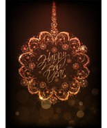 4 Happy New Year AB-Digital Clipart  - $3.85
