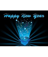 4 Happy New Year AD-Digital Clipart  - $3.85