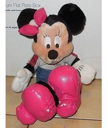 "Walt Disney World Exclusive Minnie Mouse 8"" plush toy RARE HTF - $14.00"