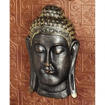 14th Century Replica Asian Buddha Bodh Gaya Med... - $54.40