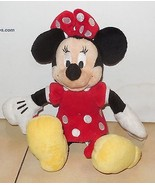 "Walt Disney World Exclusive Minnie Mouse 12"" plush toy RARE HTF - $10.63"