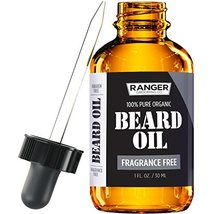 Fragrance Free Beard Oil & Leave in Conditioner, 100% Pure Natural for Groomed B image 11