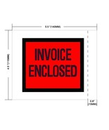 "10000 Packing list slip Invoice Holders Enclosed 4.5"" x 5.5"" Back side load - $169.10"