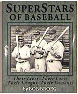 Book, Superstars of Baseball by Bob Broeg, 1994 Softcover - $13.75