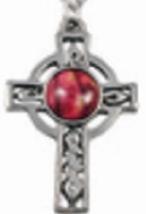 Celtic Cross Pewter Pendant - HeatherGems image 2