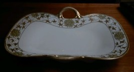 Nippon Antique Hand Painted Bone China Serving Dish  - $11.30