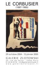 Le Corbusier-Galerie Zlotowski-2001 Poster - $28.05