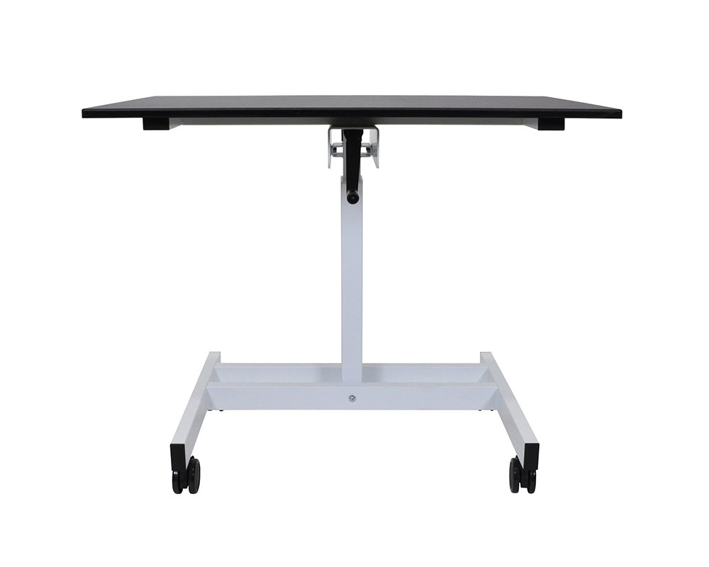 "Primary image for Luxor Office single Column Crank Stand Up Desk - 23.625""D x 39.375""W"