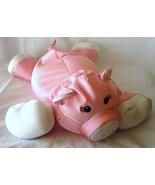 Moshi Pig Brentwood Microbead Pillow Stuffed Animal Pink Piggy Eyelashes girl - $21.97