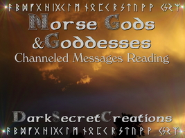 Norse Gods & Goddesses Psychic Reading, Personalized Guidance, Channeled... - $30.00