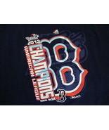 MLB Boston Red Sox Major League Baseball Fan 2013 World Series Blue T Sh... - $17.46