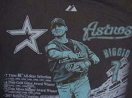 MLB Houston Astros Major League Baseball Fan Craig Biggio #7 Majestic T Shirt S - $17.71