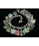 NANCY DREW Book Covers Charm Bracelet - $25.99