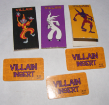 2002 Scooby Doo The Movie Game 3 Villain Movers + 3 Villian Insert Cards - $8.00