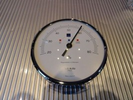 Elie Bleu Original Replacement Hygrometer 3.5 diameter Silver finish - $245.00