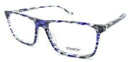 Starck Eyes Mikli Rx Eyeglasses Frames SH3025 0017 57-17-145 Blue Grey S... - $120.54