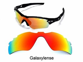 Galaxy Replacement Lenses For Oakley Radar Path Vented Sunglasses Red - $27.45