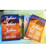 3 Joshua Books in Slip Case Joshua in the Holy Land Joshua and the Children - $9.99