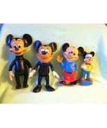 4 Vintage Mickey Mouse & Minnie Walt Disney Pro... - $19.99