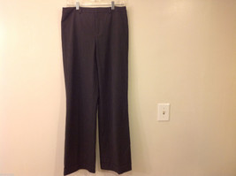 Dressbarn Womens' Size 10 Black Pants Slacks w/ Rhinestone Button Embellishments
