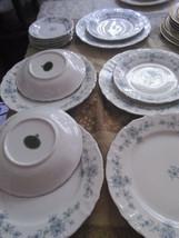 LOT OF 14 PCS Renaissance by Winterling - Bavaria  Blue Flowers, England - $74.44
