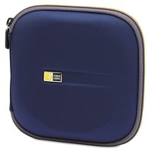 Case Logic EVW-24 EVA Molded 24 Capacity CD/DVD Case (Blue) - $20.25