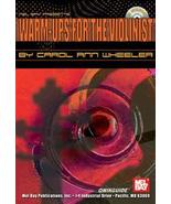 Warm Ups For The Violinist/Qwikguide/Book/CD Set/New - $8.99