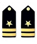 NEW US NAVY HARD Shoulder Boards LIEUTENANT Rank CP Brand - Hi Quality - $37.04