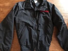 VTG HARLEY DAVIDSON MADE USA BLACK JACKET 80S BIKER Blend Small - $42.51