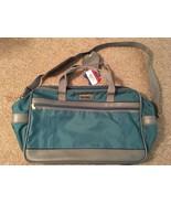 "Vintage 18"" Blue American Tourister Carry On Duffle Bag W/ Shoulder Strap - $24.99"
