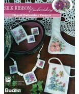 Pansy Necklace & Earrings Silk Ribbon Embroidery Book - $5.90