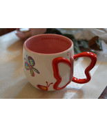 Starbucks Coffee 2007 Butterflies Red Wing Hand... - $28.91