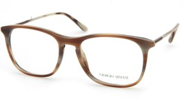 New GIORGIO ARMANI AR7103 Brown 5497 EYEGLASSES FRAME 53-18-145mm B42mm ... - $123.74