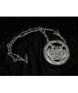 Metal Monster Medallion & Ashtray Made in Bolivia Tiahuanaco Jewels. - $19.99