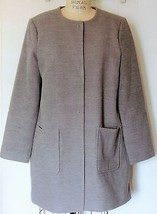 NEW FOREVER 21 HEATHER GRAY CAR COAT JACKET L - $37.90