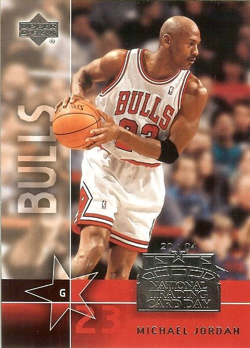 Primary image for 2004 ud michael jordan national trading card day chicago bulls