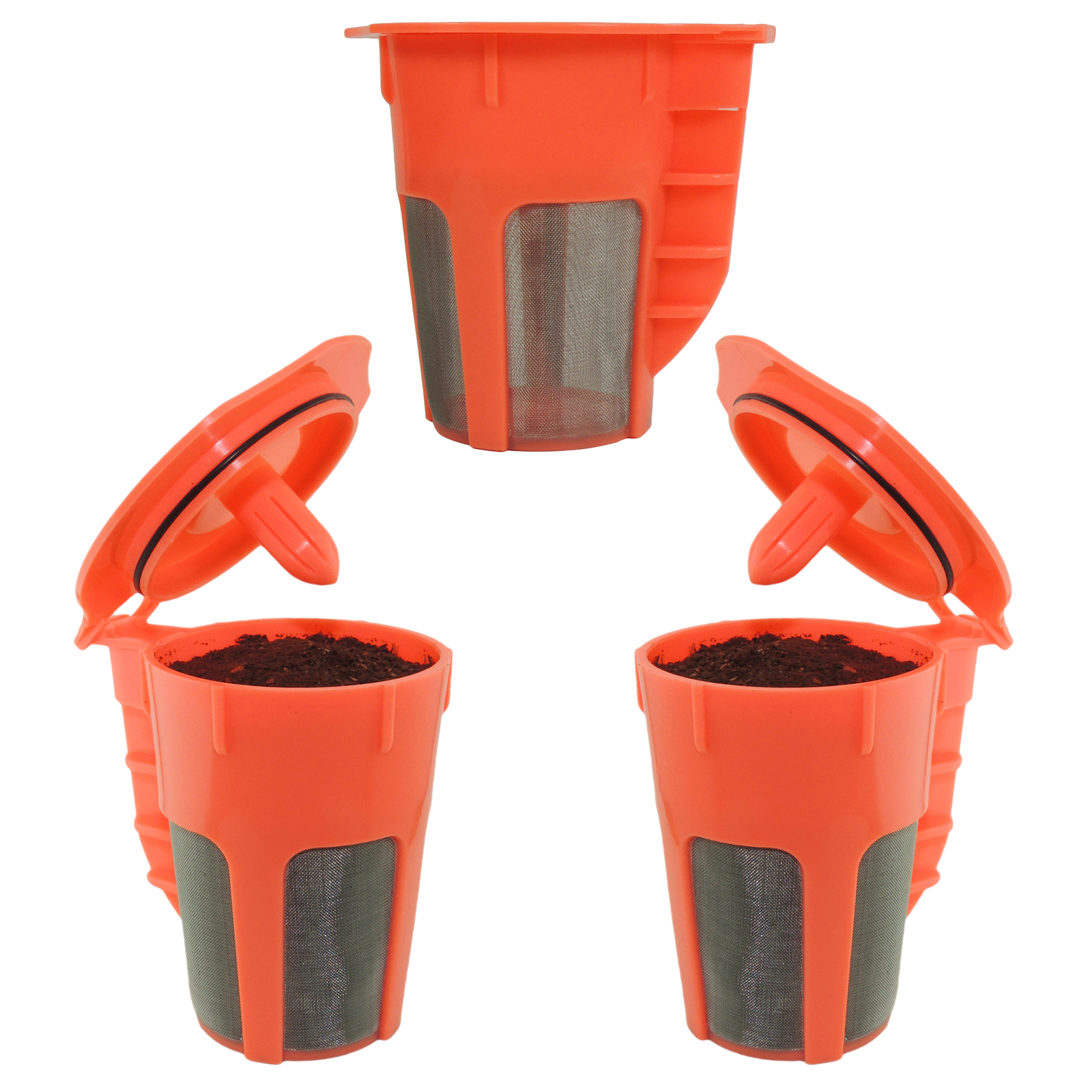 Keurig 2.0 k carafe k cups refillable k cup  coffee filter reusable carafe 3 pack