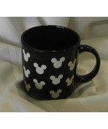 Disney Mickey Mouse Silouette Black and White C... - $24.95